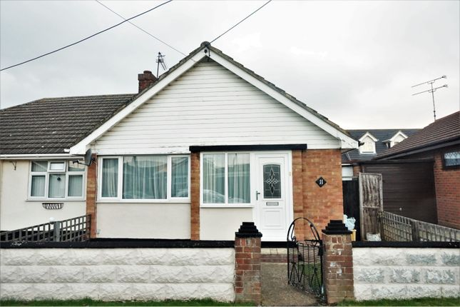 Thumbnail Semi-detached bungalow for sale in Temptin Avenue, Canvey Island