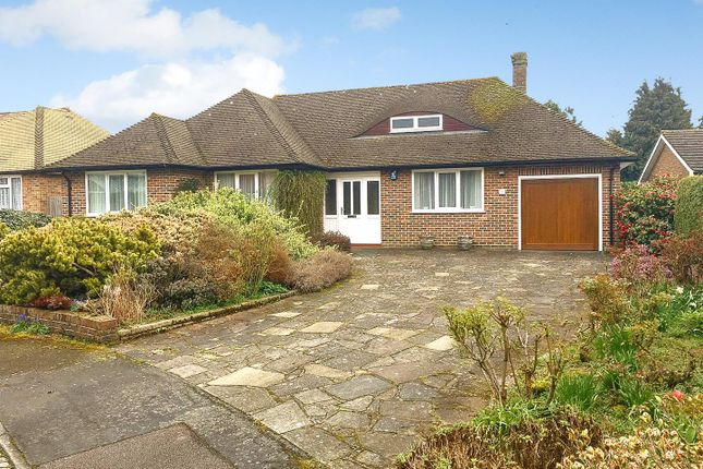 Thumbnail Detached bungalow for sale in Howell Hill Close, Epsom