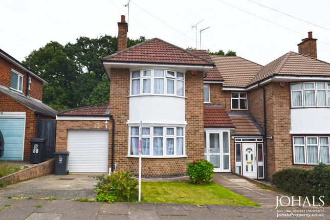 Thumbnail Semi-detached house to rent in Highway Road, Leicester, Leicestershire