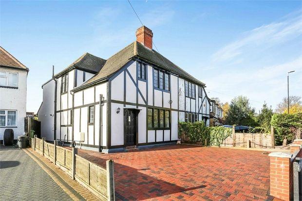 Thumbnail Semi-detached house for sale in 1 Wrythe Lane, Carshalton, Surrey