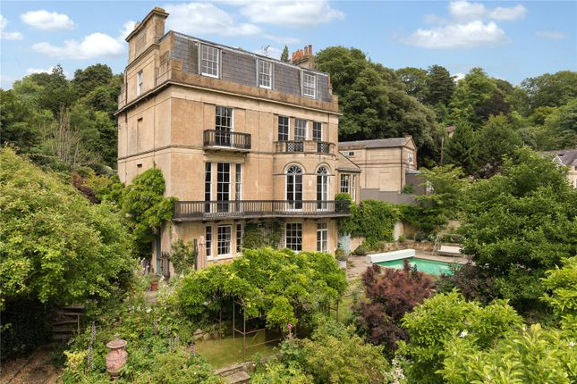 Thumbnail Detached house for sale in Bathwick Hill, Bathwick, Bath