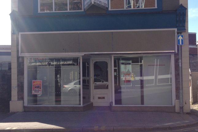 Thumbnail Retail premises to let in Talbot Street, Maesteg
