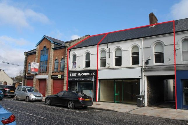 Thumbnail Retail premises to let in 42-44 Main Street, Ballyclare, County Antrim