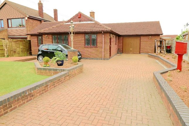 Thumbnail Detached bungalow for sale in Wharf Road, Crowle, Scunthorpe
