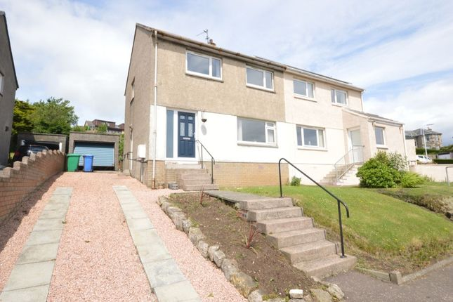 Thumbnail Semi-detached house for sale in Carlin Craig, Kinghorn, Burntisland