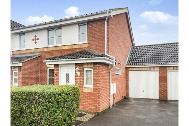Thumbnail Semi-detached house for sale in Osborne Heights, East Cowes