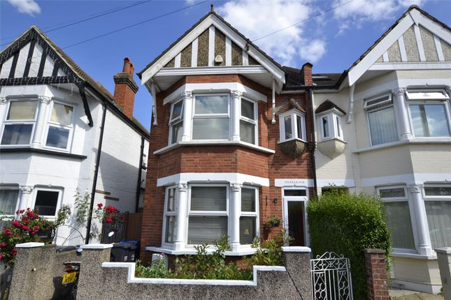 Thumbnail Semi-detached house for sale in Waddon Park Avenue, Croydon