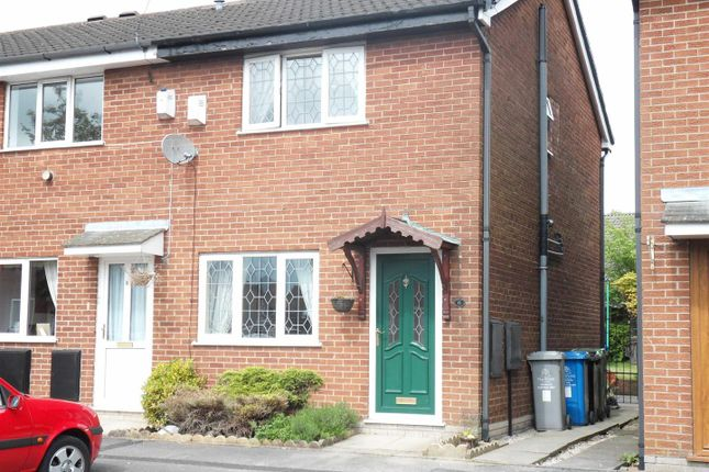 Thumbnail Semi-detached house to rent in Marbury Close, Urmston, Manchester