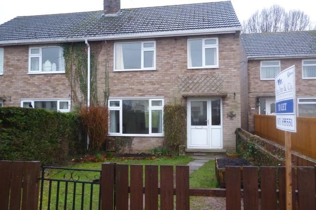 Thumbnail Semi-detached house to rent in 22 Caestory Crescent, Raglan, Monmouthshire