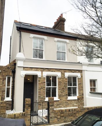 Thumbnail Semi-detached house to rent in Somerset Road, Chiswick