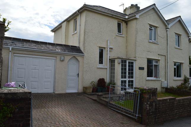 Thumbnail Semi-detached house for sale in Seaview Place, Llantwit Major
