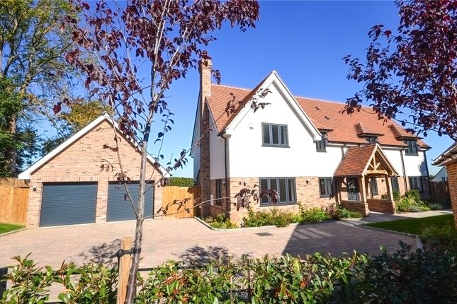 Thumbnail Detached house for sale in The Pastures, Bishop's Stortford, Hertfordshire