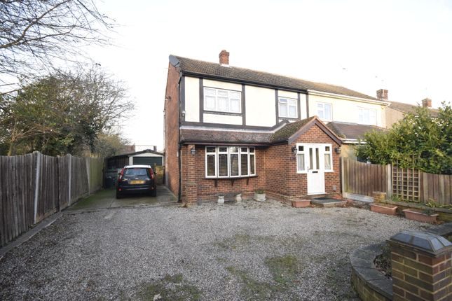 Thumbnail Semi-detached house to rent in Elder Avenue, Wickford