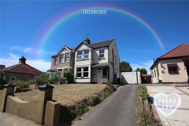 Thumbnail Semi-detached house for sale in Heath Lane, West Dartford, Kent