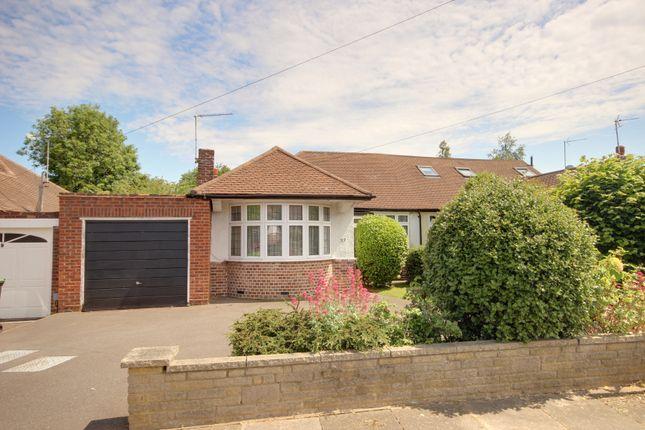 Thumbnail Semi-detached bungalow for sale in Cranleigh Gardens, Grange Park