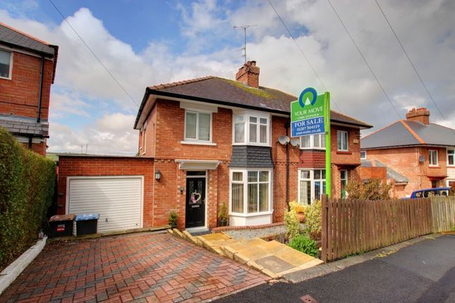 Thumbnail Semi-detached house for sale in The Briary, Shotley Bridge, Consett