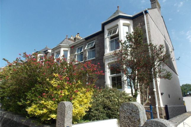 Thumbnail End terrace house for sale in Park Road, Redruth