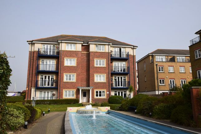 Thumbnail Flat for sale in Sovereign Harbour South, Eastbourne