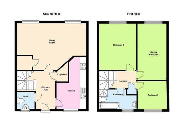 Floor Plan of Everwood Court, Ely, Cardiff CF5