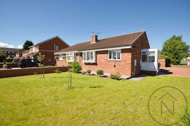 Thumbnail Semi-detached bungalow for sale in Speedwell Close, Darlington