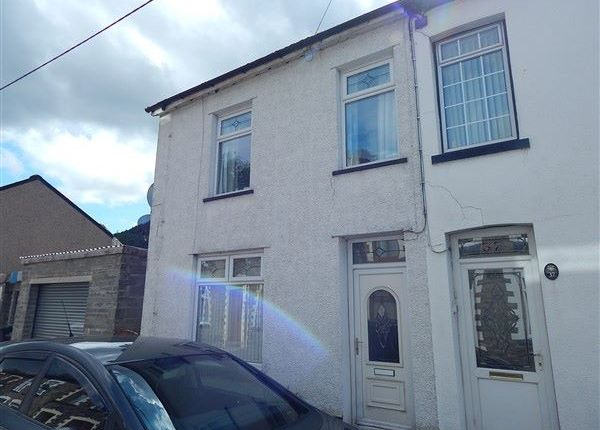 Thumbnail End terrace house for sale in Carlyle Street, Abertillery
