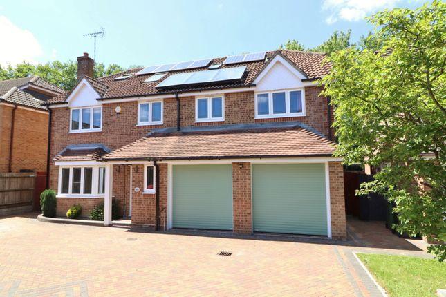Thumbnail Detached house for sale in Britannia Gardens, Hedge End, Southampton