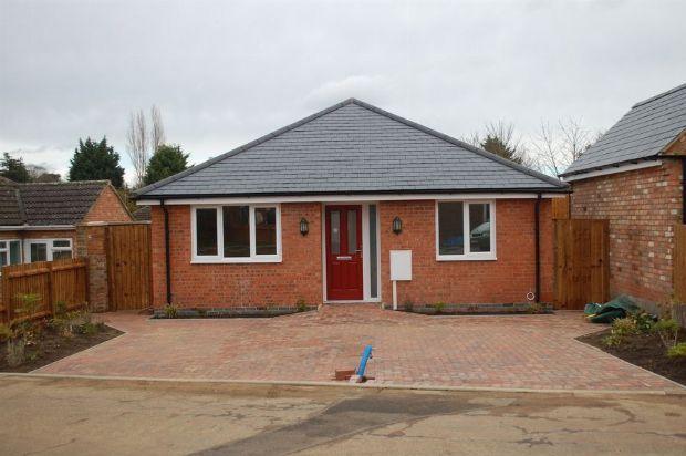 Thumbnail Detached bungalow for sale in Montfort Close, Duston, Northampton