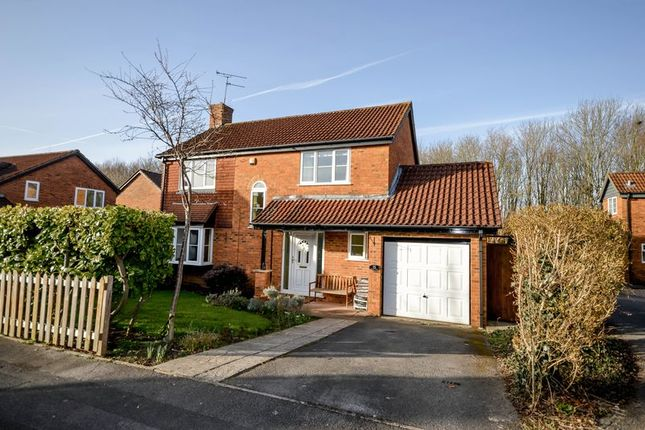 Thumbnail Detached house for sale in Ransome Close, Shaw, Swindon
