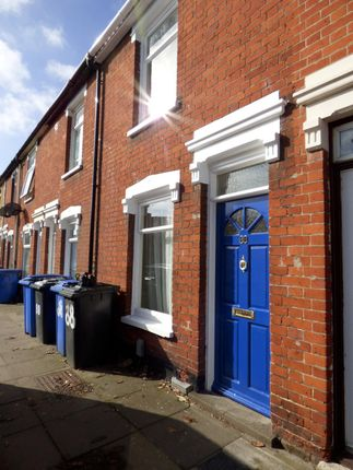Thumbnail Terraced house to rent in Surrey Road, Ipswich