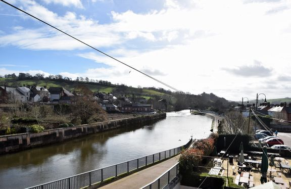 Thumbnail Maisonette to rent in Bridge Street, Tiverton