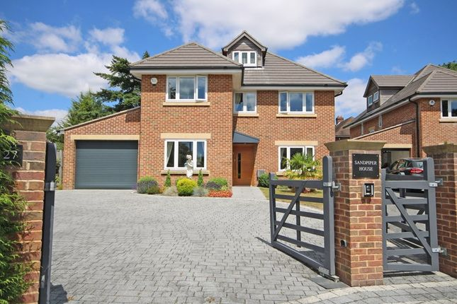 Thumbnail 5 bed detached house for sale in Barrs Avenue, New Milton