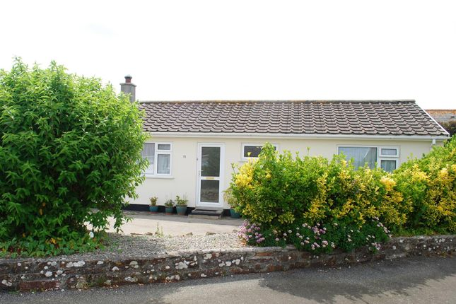 Thumbnail Semi-detached bungalow for sale in Chyventon Close, St. Buryan, Penzance