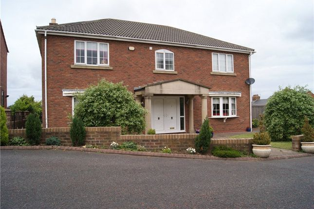 Thumbnail Detached house for sale in Palatine View, Sherburn Hill, Durham