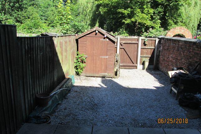Rear Yard of Smiths Lane, Hindley Green, Wigan WN2