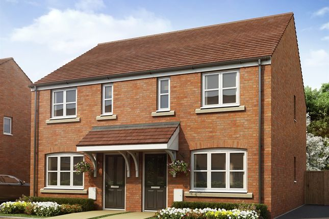 "2 bed semi-detached house for sale in ""The Alnwick Special"" at Snowberry Lane, Wellesbourne, Warwick CV35"