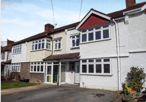 Thumbnail Terraced house to rent in Clock House Road, Beckenham