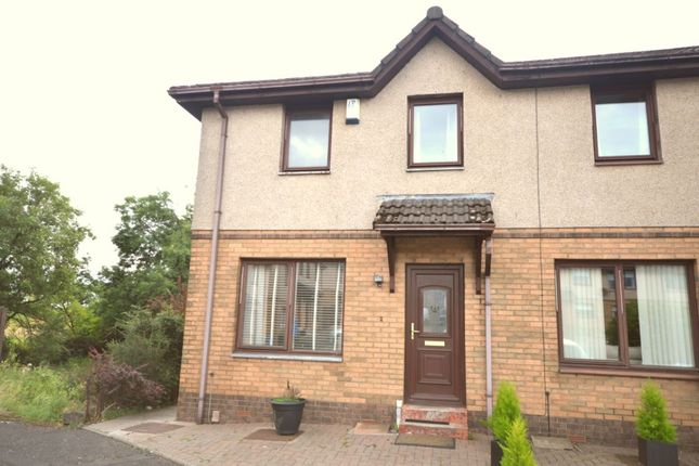 Thumbnail Terraced house for sale in Norwood Court, Bonnybridge