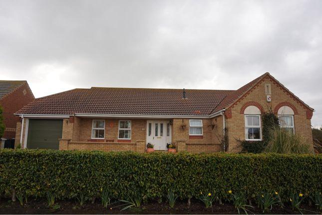 Thumbnail Detached bungalow for sale in Merrills Way, Skegness