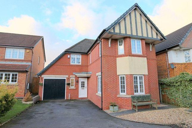 Thumbnail Detached house for sale in Charlestown Grove, Longton, Stoke-On-Trent