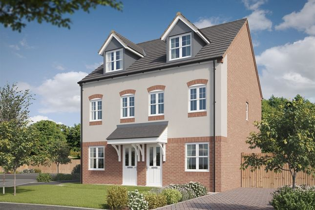 """Thumbnail Town house for sale in """"The Silverton"""" at Lyne Hill Lane, Penkridge, Stafford"""