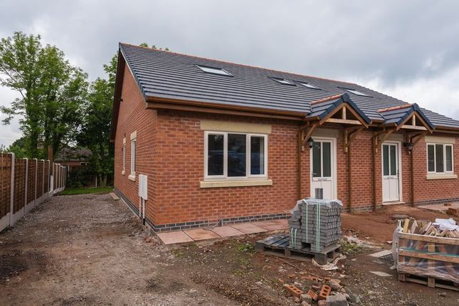 Thumbnail Semi-detached bungalow for sale in Chorley Lane, Charnock Richard, Chorley