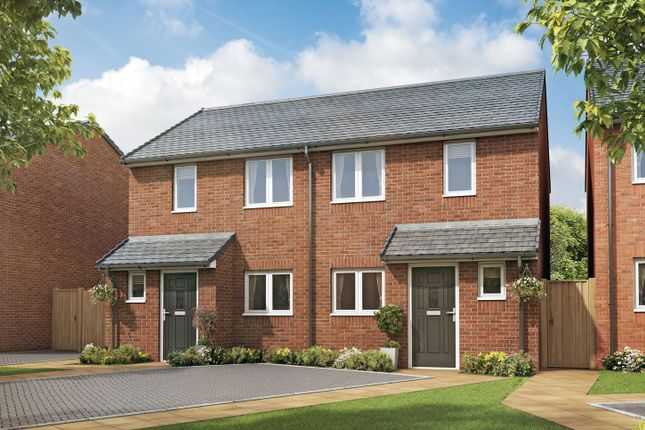 """Thumbnail Semi-detached house for sale in """"The Coppice I"""" at High Street, Riddings, Alfreton"""