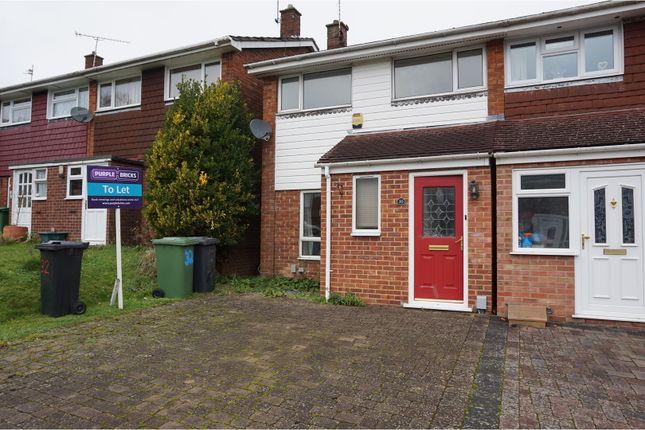 Thumbnail Semi-detached house to rent in Stukeley Road, Basingstoke