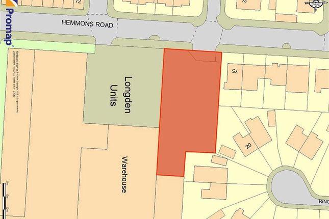 Thumbnail Land for sale in Hemmons Road, Longsight, Manchester