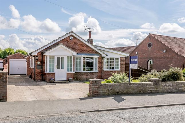 Thumbnail 3 bed detached bungalow for sale in Hambleton View, Tollerton