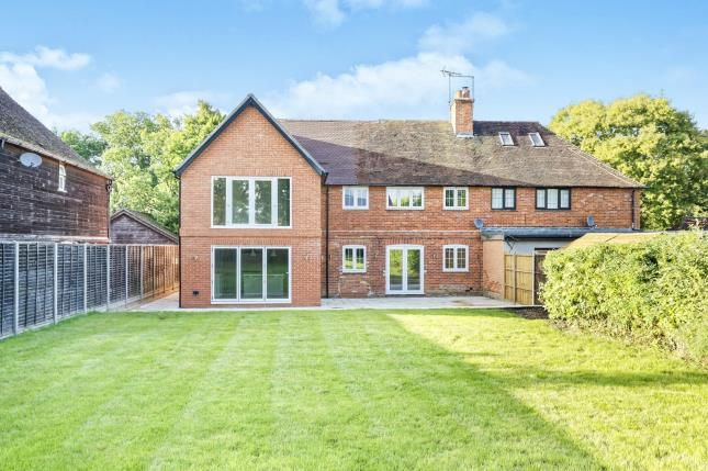 Thumbnail Semi-detached house for sale in Eversley, Hook, Hampshire
