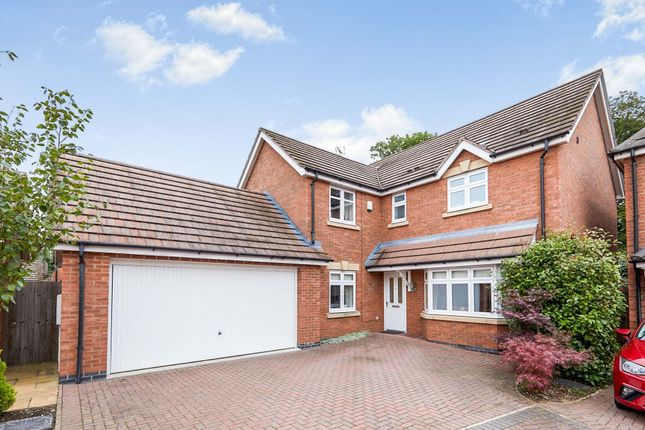 Thumbnail Detached house for sale in Boundary Close, Burton-On-Trent