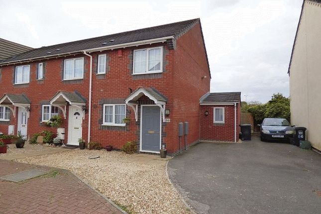 Thumbnail End terrace house for sale in Yarbury Way, Weston-Super-Mare