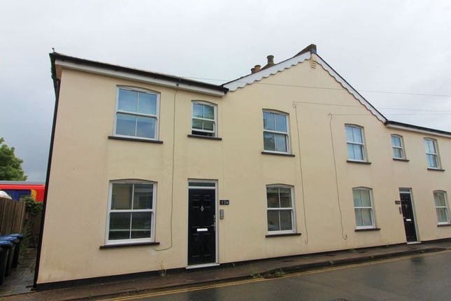 Thumbnail Terraced house to rent in Rusham Road, Egham