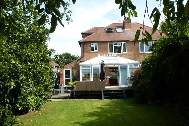 Thumbnail Semi-detached house for sale in Highland Road, Leamington Spa
